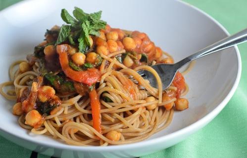 Moroccan-Chickpea-Spaghetti-8