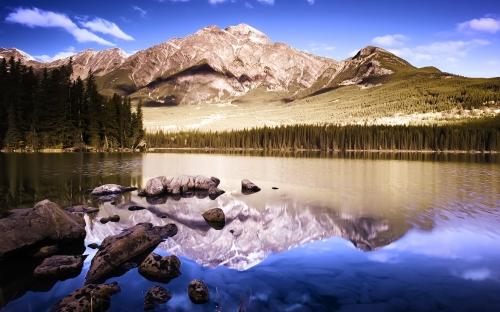 mountains - w076