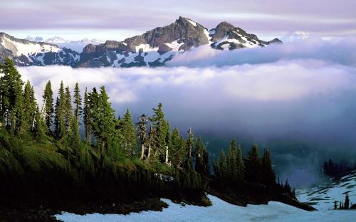 mountains - w378