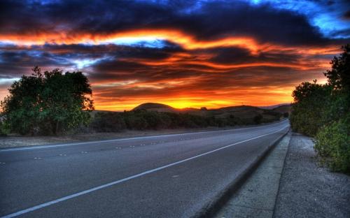 sunsets - w045