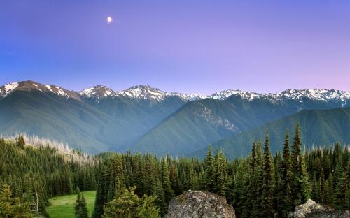 mountains - w514