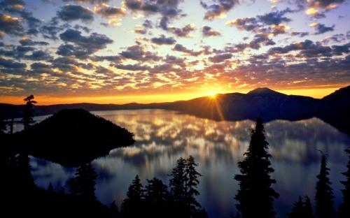 Landscape Cascade Range Oregon Mac742