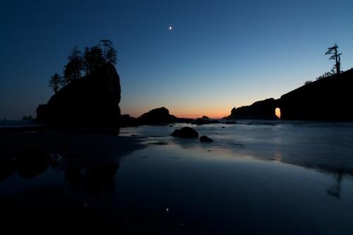Last Light at Second Beach