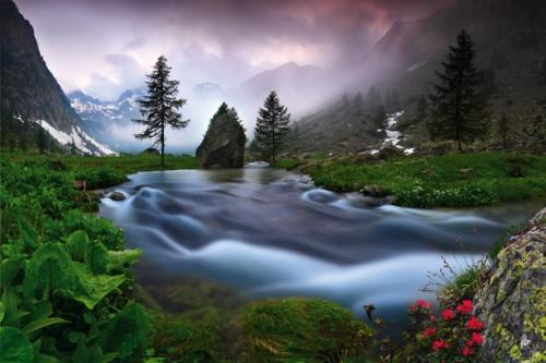 The weather I love - Pian del Valasco, Alpi Marittime natural pa