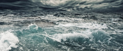rough ocean