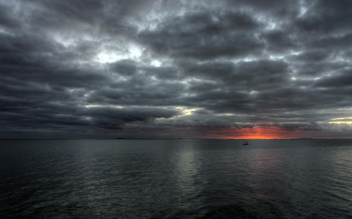 Cloudy rise