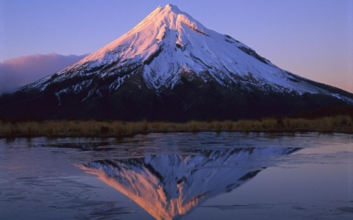 Snow Reflection