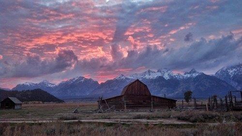 Sunrise Teton