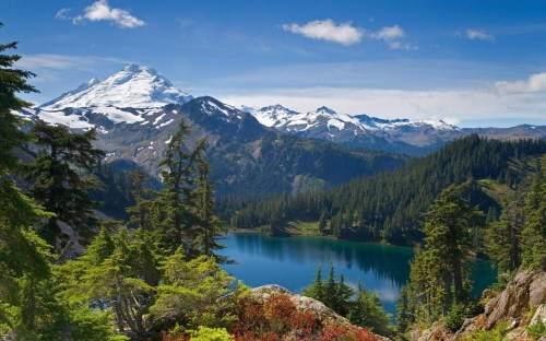 Iceberg Lake, Mt. Baker Wilderness